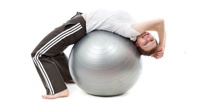 back neck knee exercises