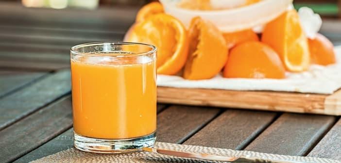 orange juice to baby