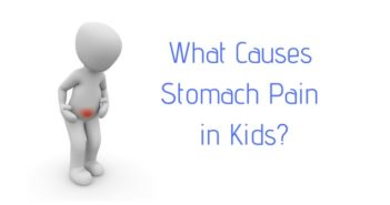 what causes stomach pain in kids