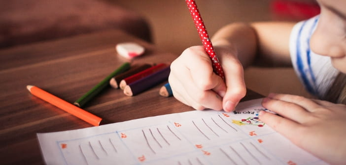 when can kids start writing