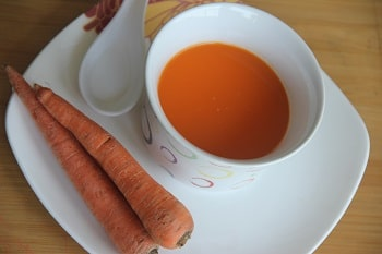 carrot juice for baby