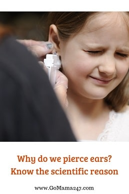 why do we pierce ears_the scientific reason
