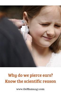 why do we pierce ears_the scientific reason