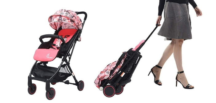 r for rabbit portable baby pram review