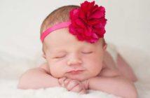 floral baby girl names rare