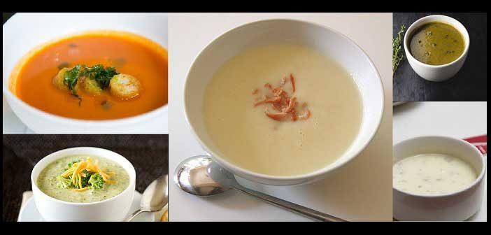 5 tasty soups