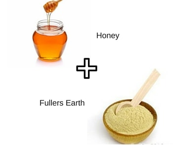 honey fullers earth clay mask