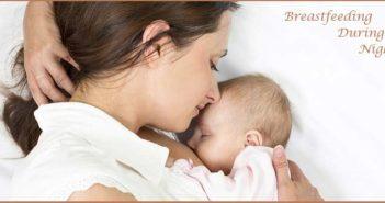 breastfeeding during night