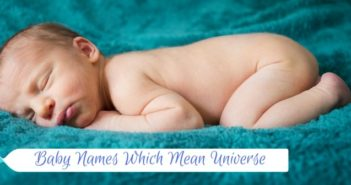 baby names which mean universe