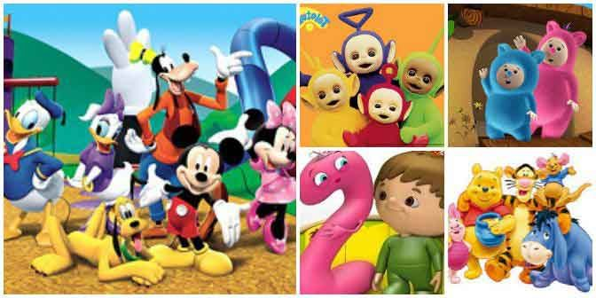 baby tv collage