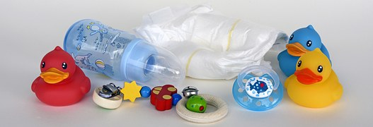 plastic baby toys and stuffs