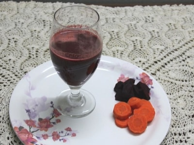 beetroot carrot juice