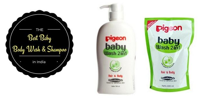 best baby body wash & shampoo in india