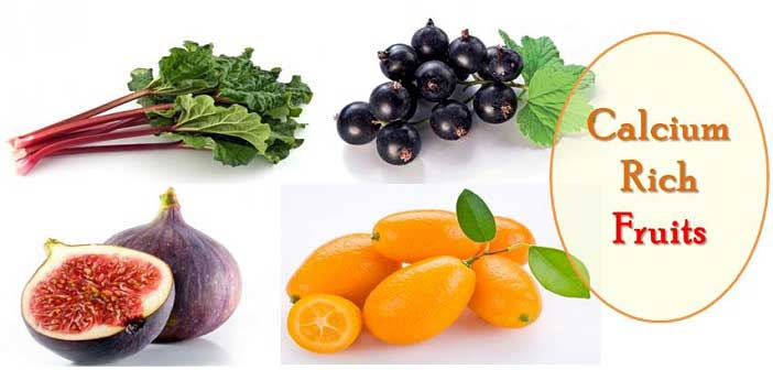 calcium rich fruits