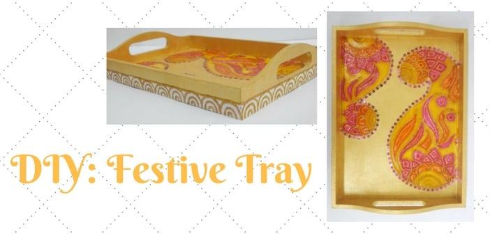 DIY- Festive Tray
