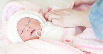 dressing newborn