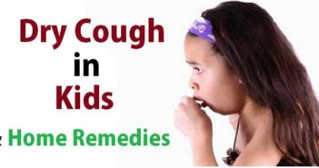 dry cough in kids