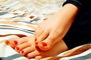 feet temperature
