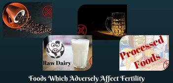 fertility reducing foods