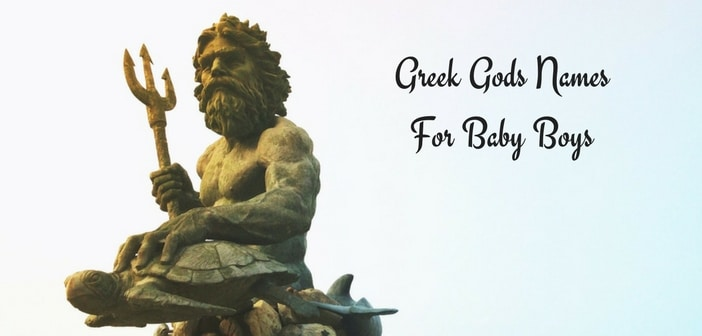 greek gods names for baby boys