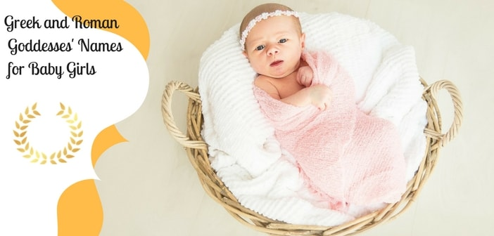 greek and roman goddesses' names for baby girls