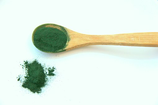 green tea powder