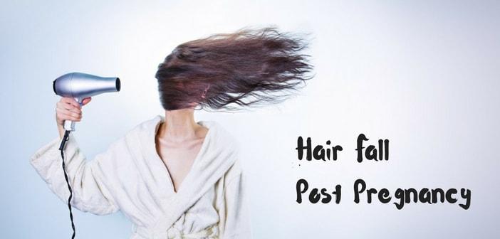 hair fall post pregnancy