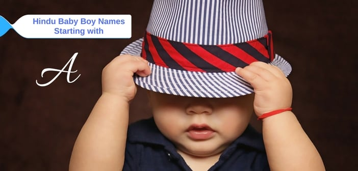hindu baby boy names starting with a
