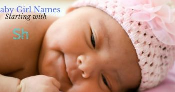 hindu baby girl names starting with sh