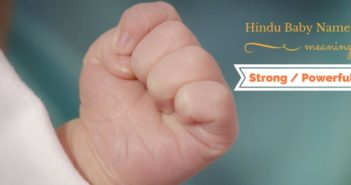 hindu baby names meaning strong or powerful