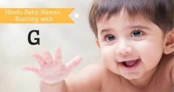 hindu baby names starting with g