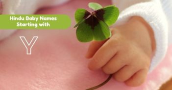 hindu baby names starting with y