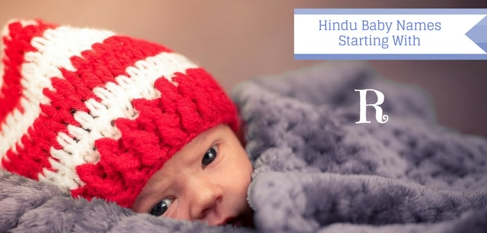 hindu names starting with letter r