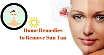home remedies to remove sun tan