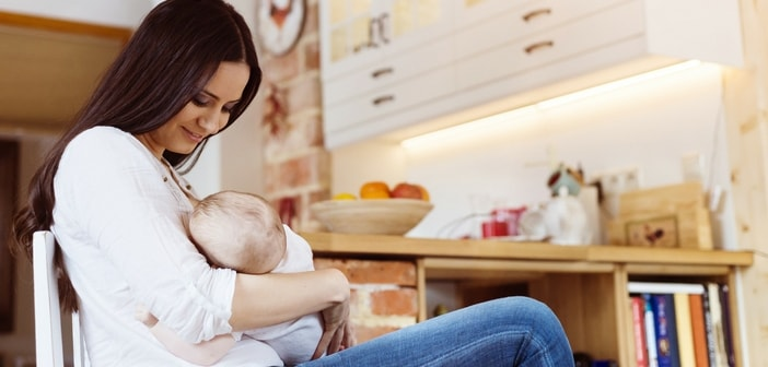 how to make baby healthy in breastfeeding