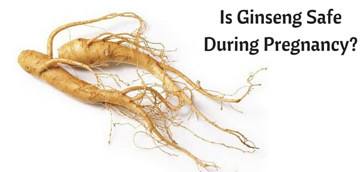 is ginseng safe during pregnancy