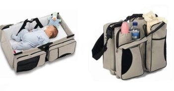 magical baby bed cum diaper bag
