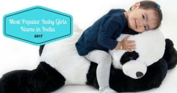 most popular baby girls name in India