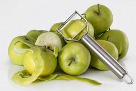 peel apple