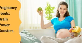 which foods during pregnancy help make baby intelligent