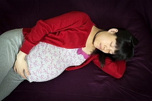 pregnant sleeping