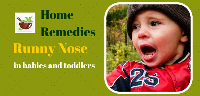 runny nose remedy