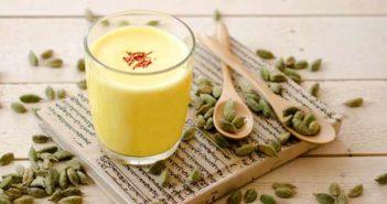Keshar milk