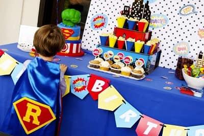 superheros theme