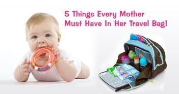 travel essentials of baby