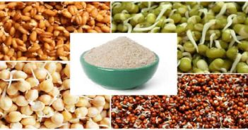 sprouted grains flour
