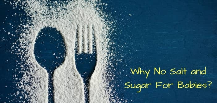 why no salt and sugar for babies