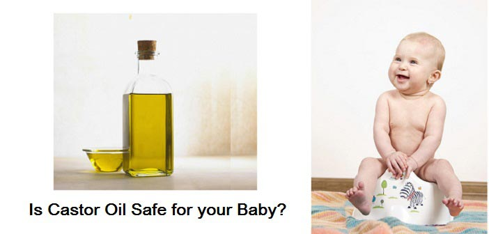 castor oil baby constipation