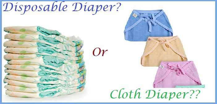 diapers vs cloth
