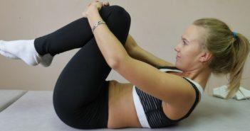 exercises to tone up lose tummy